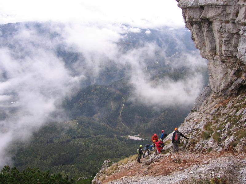 Klettersteig Rax : Rax klettersteig napos haid steig